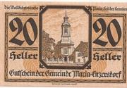 20 Heller (Maria-Enzersdorf) -  obverse
