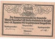 20 Heller (Maria-Enzersdorf) -  reverse