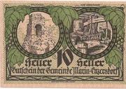 10 Heller (Maria-Enzersdorf) -  obverse