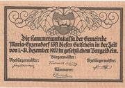 10 Heller (Maria-Enzersdorf) -  reverse