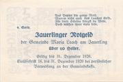 10 Heller (Maria  Laach) -  reverse