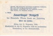 80 Heller (Maria  Laach) – reverse