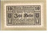 10 Heller (Maria-Schmolln) – obverse