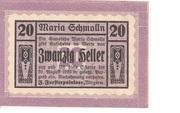 20 Heller (Maria-Schmolln) -  obverse