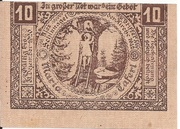 10 Heller (Maria-Taferl) -  reverse