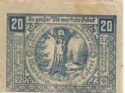 20 Heller (Maria-Taferl) -  reverse