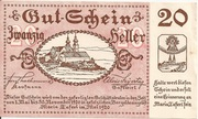 20 Heller (Maria-Taferl) – obverse