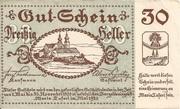 30 Heller (Maria-Taferl) – obverse