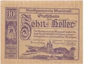 10 Heller (Mariazell) – obverse