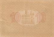 10 Heller (Mariazell) – reverse
