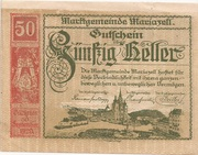 50 Heller (Mariazell) -  obverse