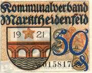 50 Pfennig (Kommunalverband) – obverse