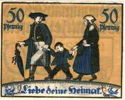 50 Pfennig (Kommunalverband) – reverse