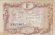 1 Franc - Chambres de Commerce de la Marne – reverse