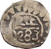½ Dirham - Sidi Mohammed IV (2nd Standard; Fes) – reverse