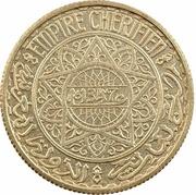 "10 Francs - Mohammed V (Essai; with ""Essai"") – obverse"