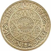 5 Francs - Mohammed V (Essai) – obverse