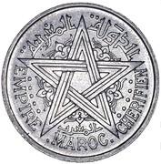 2 Francs - Mohammed V -  obverse