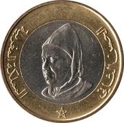 10 Dirhams - Hassan II -  obverse