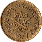 20 Francs - Mohammed V -  obverse