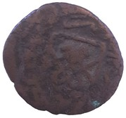 1 Falus - Isma'il (illegible mint name) – reverse