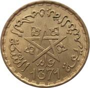 10 Francs - Mohammed V -  obverse