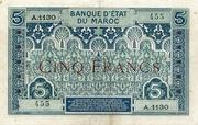 5 Francs -  obverse