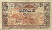 20 Francs – reverse