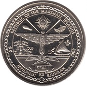 5 Dollars (To the Heroes of Guadalcanal) – obverse