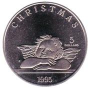 5 Dollars (Christmas) – reverse