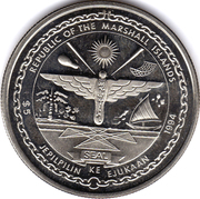5 Dollars (First Men on the Moon) – obverse