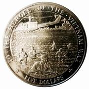 5 Dollars (To the Heroes of Vietnam War) – reverse