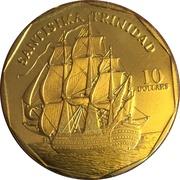 10 Dollars (Santisima Trinidad) -  reverse