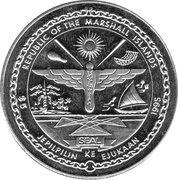 5 Dollars (War in the Pacific) – obverse