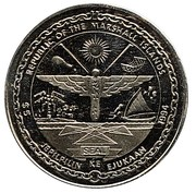 5 Dollars (To the Heroes of D-Day - Normandy Invasion) – obverse