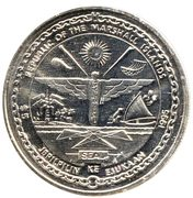 5 Dollars (JFK - Assure The Success of Liberty) – obverse