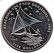 5 Dollars (Reaching For New Horizons - Tipnol) – reverse