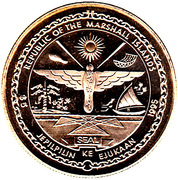 5 Dollars (Peace - Victory in Europe) – obverse