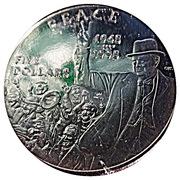 5 Dollars (Peace - Victory in Europe) – reverse