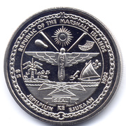 5 Dollars (To the Heroes of the First Air Raid on Tokyo - Doolittle) – obverse