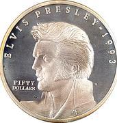 50 Dollars (Elvis Presley) – reverse