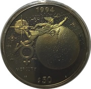 50 Dollars (Mercury) – reverse