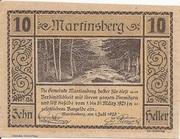 10 Heller (Martinsberg) -  obverse
