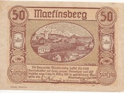 50 Heller (Martinsberg) – obverse