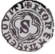 Półgrosz - Siemowit III Starszy (Płock mint) – obverse
