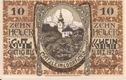 10 Heller (Matzleinsdorf) -  obverse