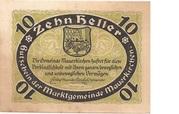 10 Heller (Mauerkirchen) – reverse