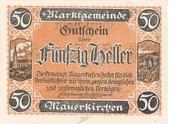50 Heller (Mauerkirchen) -  obverse