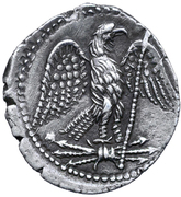 Denarius - Juba II (Caesarea; without wreath) – reverse