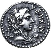 Denarius - Juba II (Caesarea) -  obverse